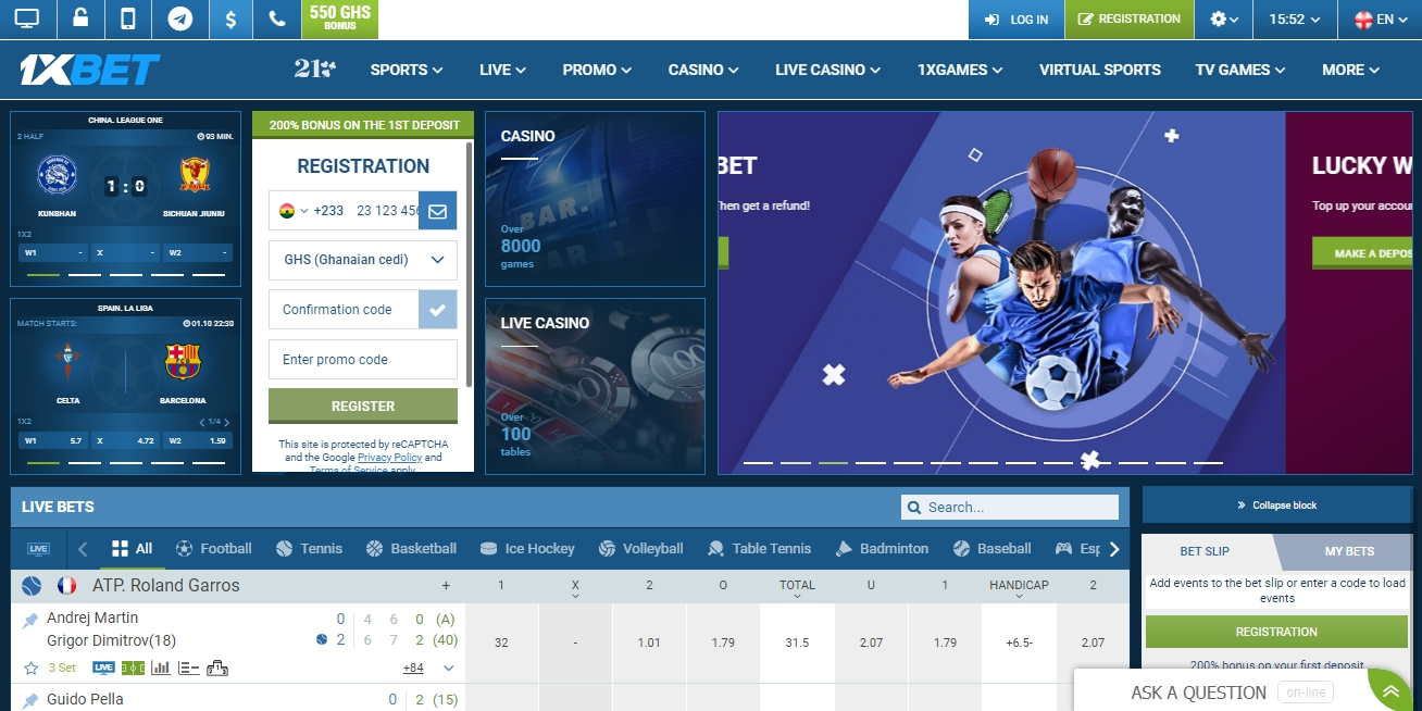 use a 1xBet login to enter the site
