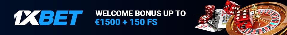 1xBet promo code registration bonus